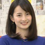 山本恵里伽アナはハーフでモデル出身?美脚やかわいい画像!口鼻が特徴的?